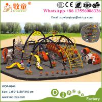 China Children Outdoor Park Climbing Playground Jungle Gym for South Africa wholesale