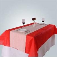 China Table Cloth Non Woven Polypropylene Fabric Wearproof Colorful For Home Furnishing wholesale