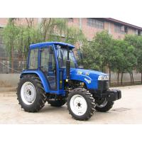 China Small Agriculture Four Wheel Drive 50 Hp Tractor 4wd Red / Blue CE ROHS wholesale