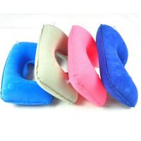 China Inflatable U-shape neck pillow for travel and car ride wholesale