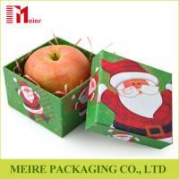 Wholesale luxury two piece custom printed apple cardboard paper packaging box