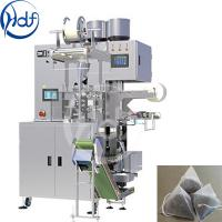 China Single Phase Tea Pouch Packing Machine / Triangular Tea Bag Packing Machine wholesale