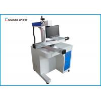 China Desktop Metal Laser Marking Machine Moving Working Table Raycus Sources wholesale