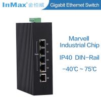 China Full Gigabit switch, 5 ports PoE Industrial networking Switch for Traffic Monitoring wholesale