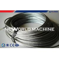 China Stainless Dteel Eire Rope 316 Model Galvanized Steel Wire Rope wholesale