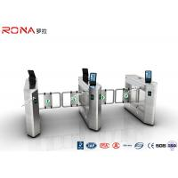 China Face Recognition Speed Gate Turnstile Access Control System 30 Persons / Min wholesale