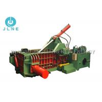 China Mobile Scrap Metal Baler Machine Hydraulic Large Scale 650*650mm Max wholesale