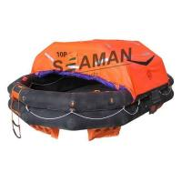 10 Person Inflatable Life Raft Rubber Solas A Pack For Marine Life Saving