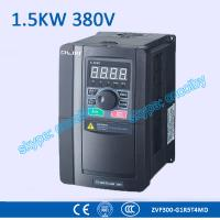 China 1.5kw 380V CNC Variable-Frequency Drive motor AC drive AC-DC-AC 50Hz/60Hz frequency converter transducer Three Phase VFD wholesale