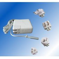 China White Angled Laptop Power Adapter CE / GS , Apple Macbook Air Power Supply 110V AC wholesale
