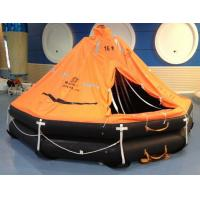 China ISO Marine throw-overboard,self-righting,davit launched inflatable life raft wholesale