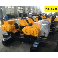 China 60T Self-aligning Tank Fit Up Rolls with Translational type fit-up and 4KW Motor on sale