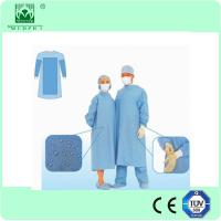 China Medical non woven SMS sterile disposable surgical gown for hospital on sale