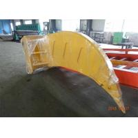 China Komatsu PC1250 Excavator Rake Bucket With 100 mm Thickness / D11 Ripper Tooth wholesale