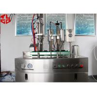 China Bag On Valve Aerosol Can Filling Equipment For Avene Evian Cosmetic Spray wholesale