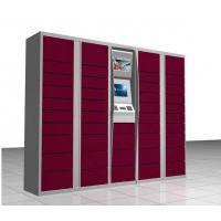 China Touch Screen Parcel Delivery Lockers , Electronic Delivery Lockers Durable wholesale