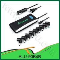 China The 4th -Generation ALU-90B4B —90W 2 in 1 Universal Laptop Adapter For Home Car Use wholesale