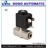 China Food Safe Solenoid Valve , SUS316 Stainless Steel Solenoid Valves For Water / Beverage wholesale