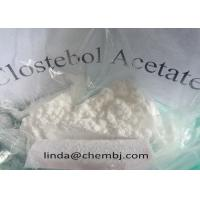 Buy cheap 4-Chlorotestosterone アセテート/筋肉成長のための Clostebol のアセテート CAS 855-19-6 from wholesalers