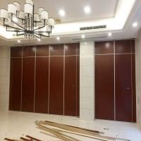 China Accordion Folding Door Partition Acoustic Movable Partition Walls For Restaurant Hotel wholesale