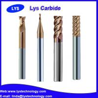 China 4mm 45HRC 2F Solid Carbide End Mills for Aluminum Cutting on sale