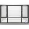China Double Glazed Aluminum Frame Window Horizontal Opening Pattern Finished Surface wholesale