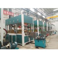 China Automatic Pulp Molding Equipment Electronic Packing Tray Thermoforming Machinery wholesale