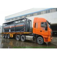 China Hydrofluoric Acid Shipping ISO Tank Container 30FT  / 40FT PE Lined Steel on sale