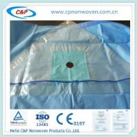 China Disposable Adhesive Nonwoven Fabric Extremity Drape with CE&ISO13485 Approved wholesale
