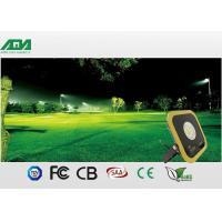 Slim High CRI Yellow Led Parking Lot Flood Lights With 5 Years Warranty