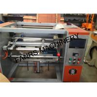 China Small Aluminium Foil Rewinder Machine For Kicthen / Household Foil Roll Rewinding wholesale