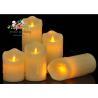 China Promotional decorative Battery operated plastic LED candle light wholesale