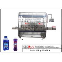 China Linear 1-5L Cleaner Filling And Packaging Machine With Diving Filling Nozzle wholesale
