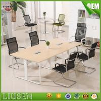 Buy cheap meeti Metal Library Furniture Reading Table/ Office Table/Conference Meeting from wholesalers