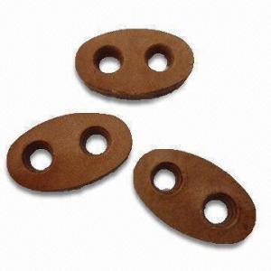 China Botões de couro com a mão costurada, feito de plutônio 100% wholesale