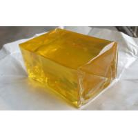 China Book Binding Yellow Hot Glue Qucik Dry For Electronics / Sanitary Products wholesale