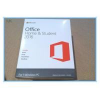 China Microsoft Office 2016 Home And Student Edition Pc Download Lifetime Activation wholesale
