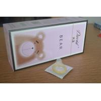 China Customized Male Latex Condom , Regular Size Condoms For Delay Ejaculation wholesale