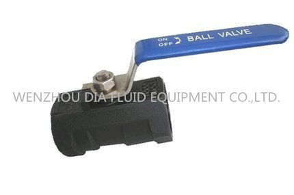 "Quality 1/8""- 4''  Carbon Steel Ball Valve Reduced Port 1000WOG 1PC Corrosion Resistant for sale"