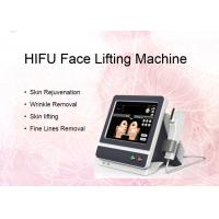 China 5 Cartridges Intensity Focused HIFU Face Lifting Machine For Body Wrinkle Removal wholesale