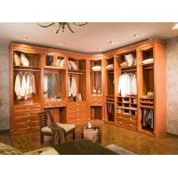 China Melamine Classical MDF Wooden Wardrobe Closet Furniture For Hotel wholesale