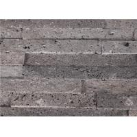 China 150*600mm Natural Grey  Volcanic Rock Lava Stone Wall Tile Stone Tile wholesale