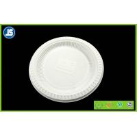 China White Biodegradable Disposable Compostable Cornstarch Bio-based Food Trays wholesale