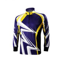 China Classic Design Outdoor Fishing Apparel , Full Custom Sublimated Fishing Jerseys on sale