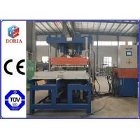Column Type Structure Rubber Tile Machine Steam Heating PLC Automatic Control