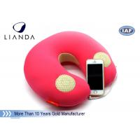 Buy cheap Natural Music Sound Vibrating Massage Neck pillow with speaker , Memory Foam materials from wholesalers
