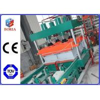 China Column Type Rubber Tile Making Machine , Customized Rubber Press Machine on sale