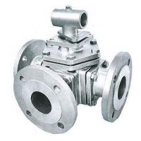 China L Port T Port Trunnion Ball Valve High Precision With ISO Mounting Pad 3 Way wholesale