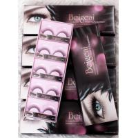 Professional Permanent Black False Eyelashes Thick For Girls , 5 Pairs