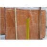 China Rojo Alicante Red Marble Floor Tile Diagonal Tolerance Eco - Friendly wholesale